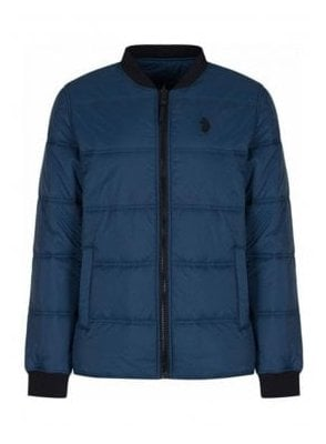 Liner Quilted Lightweight Jacket Booster Lux Midnight