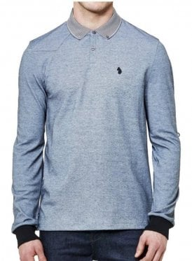 Long Special Bill 2 Otm Long Sleeved Polo Top Silver