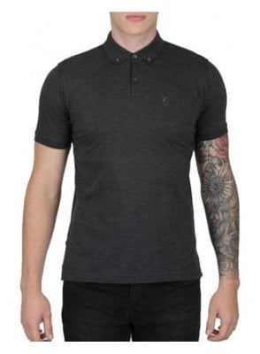 Stan Poole Otm Small Lion Polo Charcoal