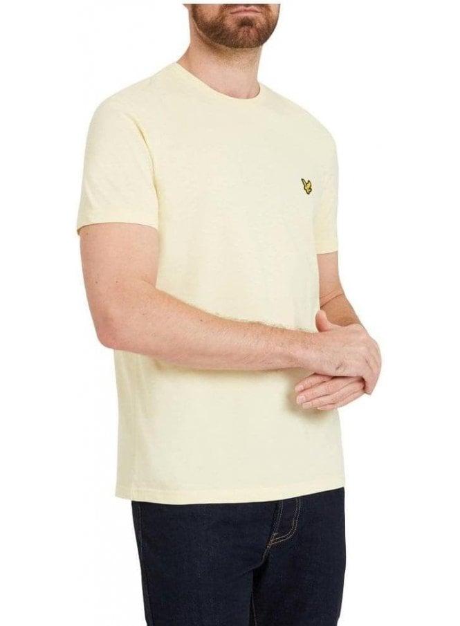 LYLE & SCOTT Basic Logo Tshirt Butter Cream