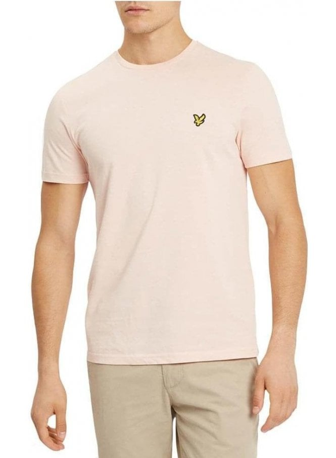 LYLE & SCOTT Basic Logo Tshirt Dusty Pink