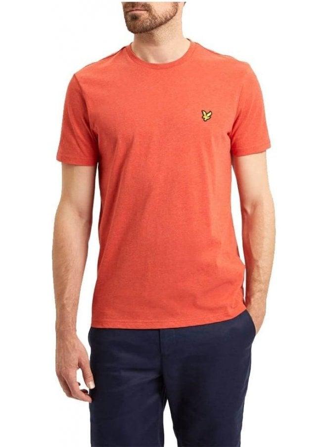 LYLE & SCOTT Basic Logo Tshirt Flame Red