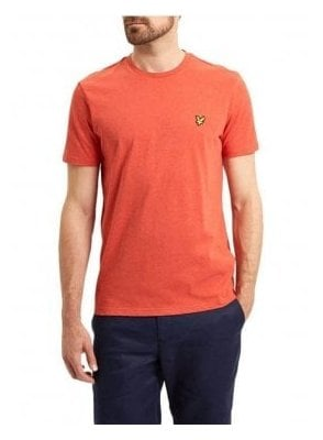 Basic Logo Tshirt Flame Red