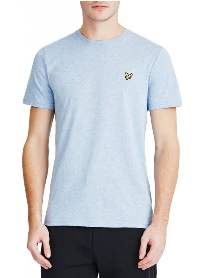 LYLE & SCOTT Basic Logo Tshirt Pacific Blue Marl