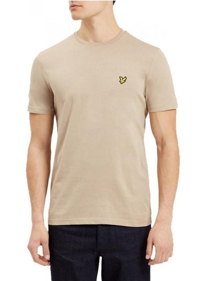 LYLE & SCOTT Basic Logo Tshirt Stone