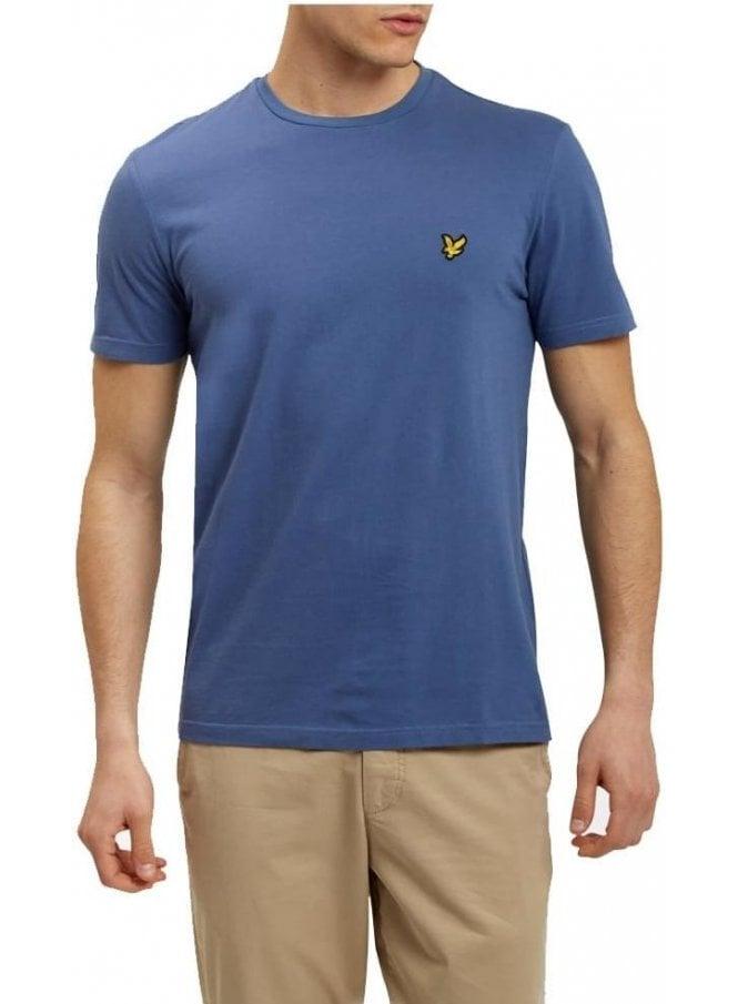 LYLE & SCOTT Basic Logo Tshirt Storm Blue Marl