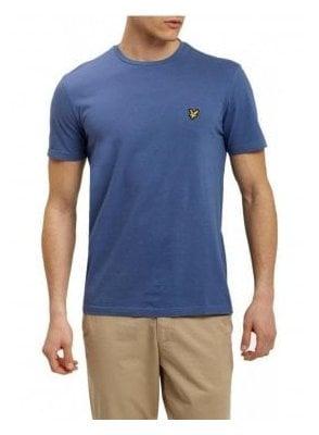 Basic Logo Tshirt Storm Blue Marl
