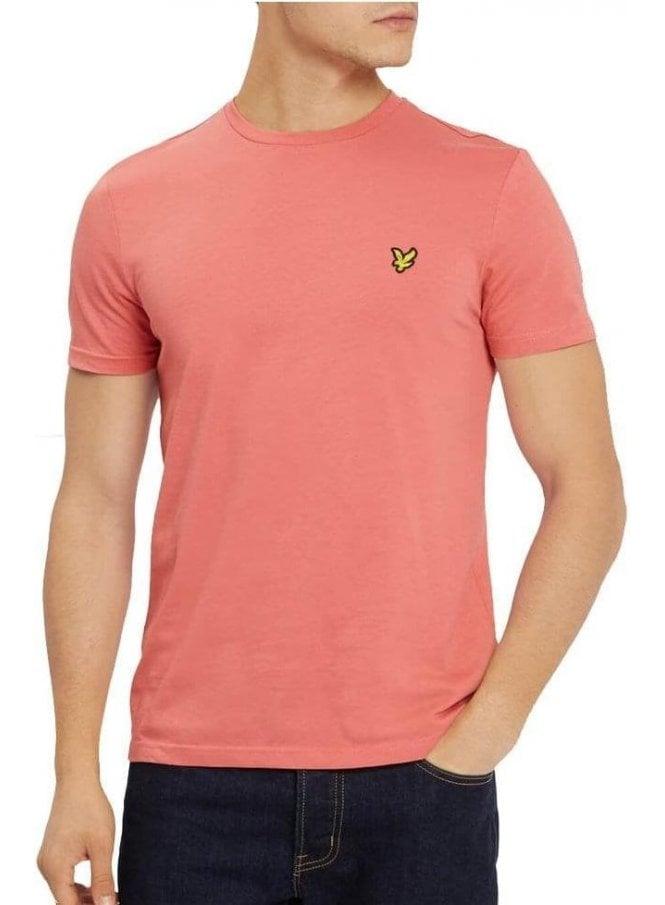 LYLE & SCOTT Basic Logo Tshirt Sunset Pink