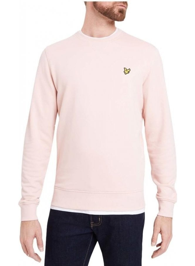 LYLE & SCOTT Crew Neck Sweat Shirt Dusty Pink
