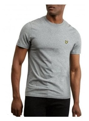 Crew Neck T-Shirt Grey Marl