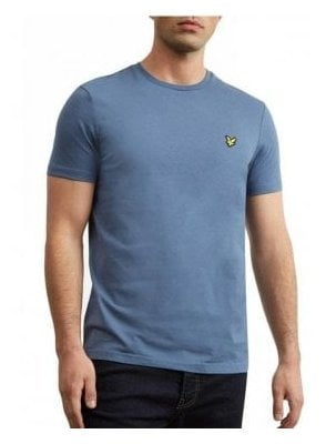 Crew Neck T-Shirt Indigo Blue