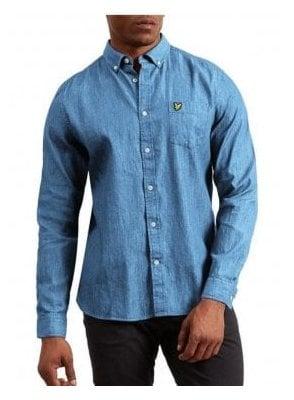 Denim Shirt Light Indigo