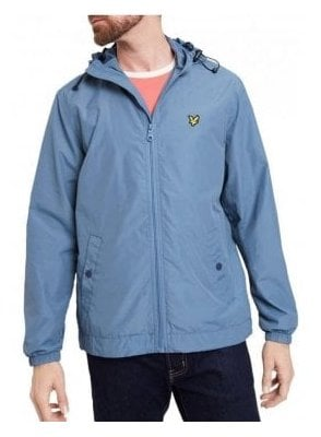 Hooded Jacket Mist Blue