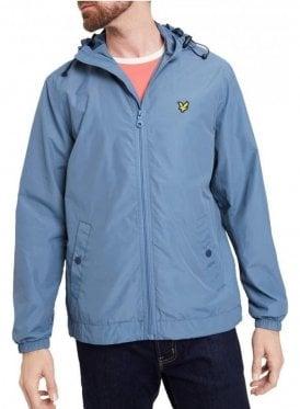 Hooded Jacket Mist Blue