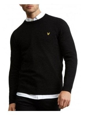 Lambswool Blend Jumper True Black