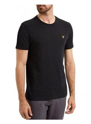 Light Weight Slub Tshirt True Black