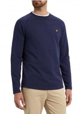 Lightweight Crew Neck Sweatshirt Navy