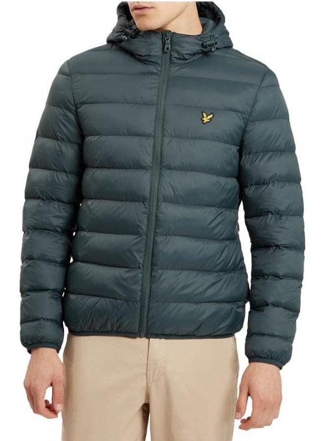 LYLE & SCOTT Lightweight Puffa Jacket Forest Green