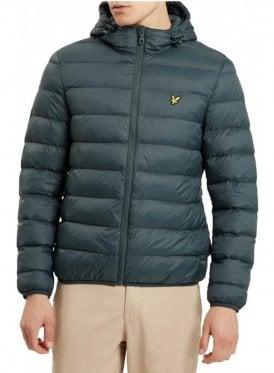 Lightweight Puffa Jacket Forest Green