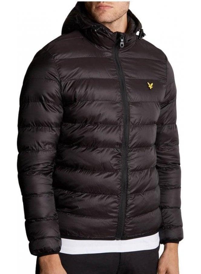 LYLE & SCOTT Lightweight Puffa Jacket True Black