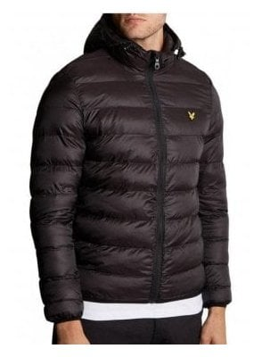 Lightweight Puffa Jacket True Black