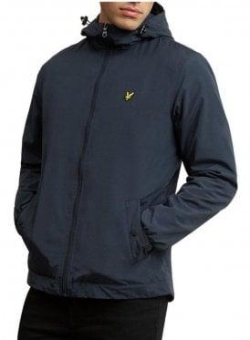 Microfleece Lined Zip Through Jacket Dark Navy