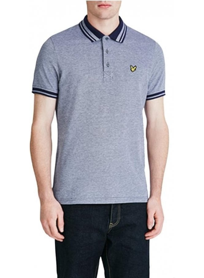 LYLE & SCOTT Oxford Polo Tshirt Navy