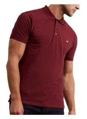 Polo Shirt Claret Jug