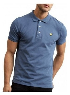 Polo Shirt Indigo Blue