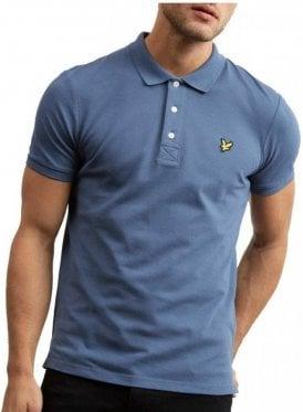 Polo Shirt Indigo Blue