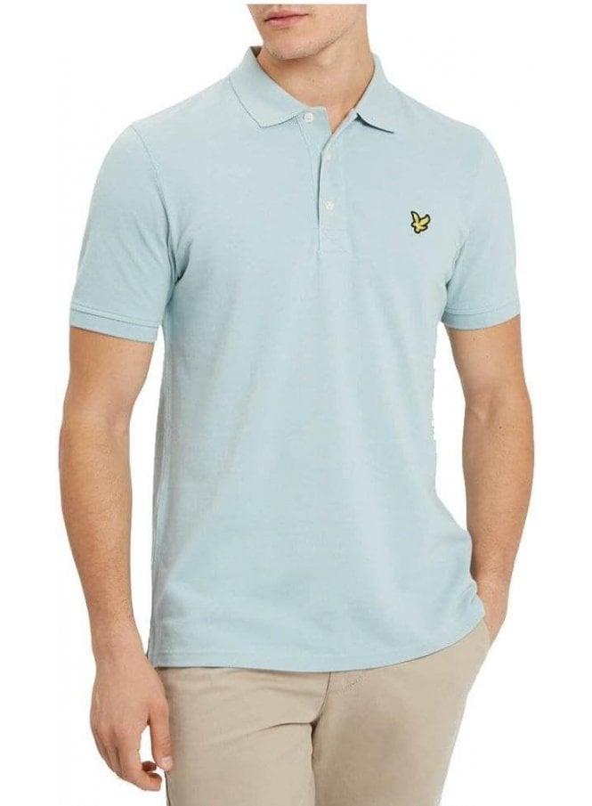 LYLE & SCOTT Polo Shirt Powder Blue