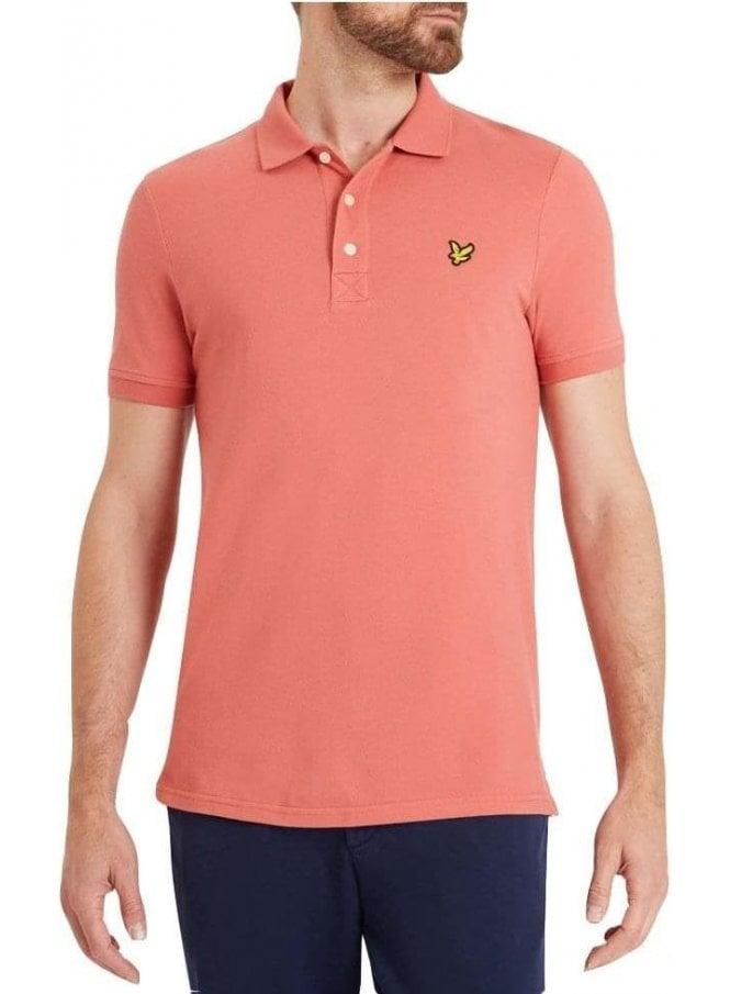 LYLE & SCOTT Polo Shirt Sunset Pink