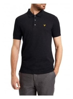 Polo Top True Black