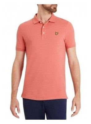 Polo Tshirt Sunset Pink