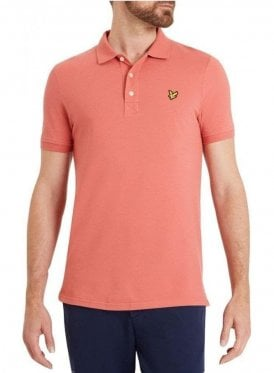 Polo Tshirt Sunset Pink