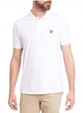 Lyle & Scott Polo Tshirt White