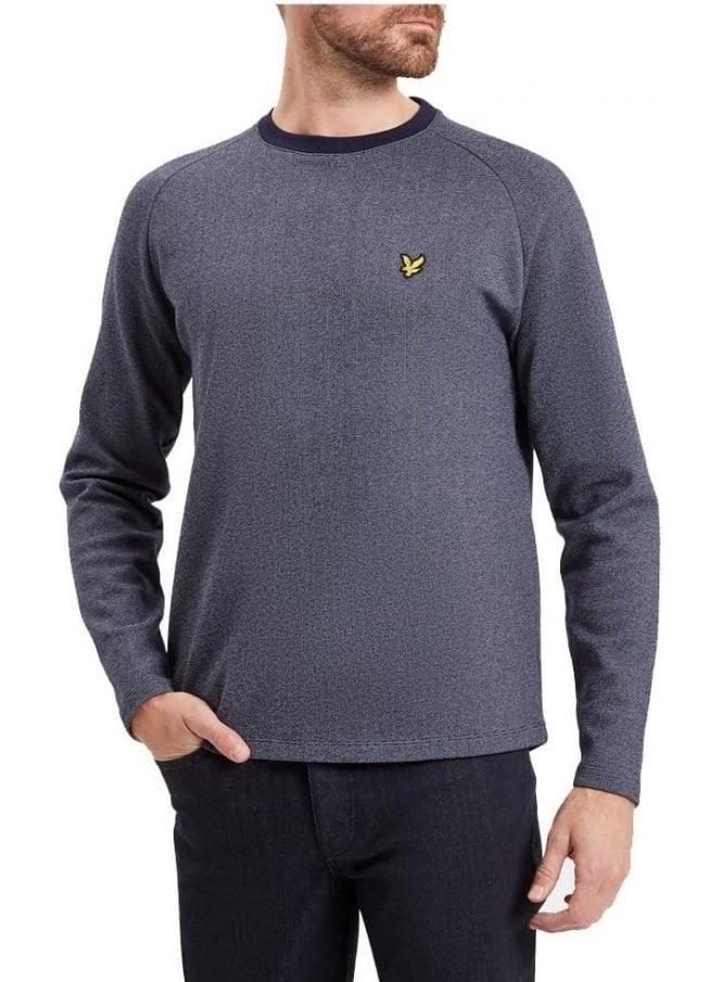 LYLE & SCOTT Ponte De Roma Sweat Shirt Navy