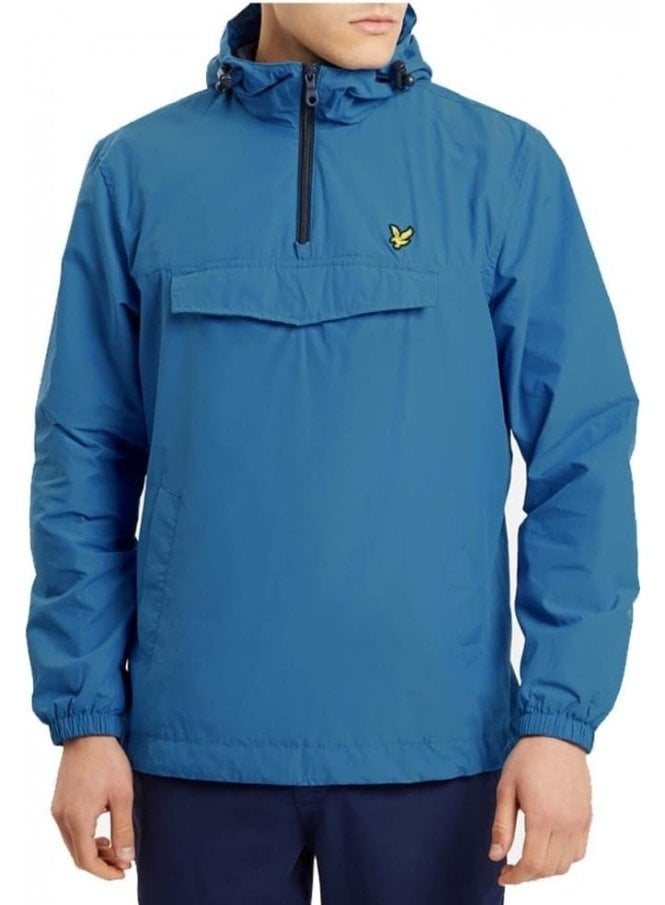 LYLE & SCOTT Pull Over The Head Anorak Outerwear Jacket Lake Blue