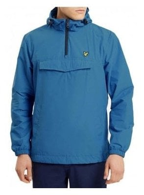 Pull Over The Head Anorak Outerwear Jacket Lake Blue