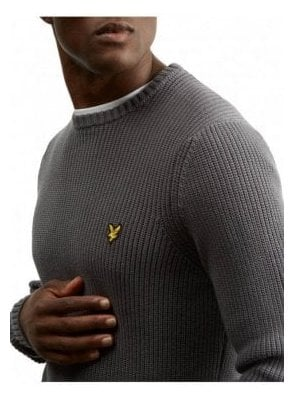 Rib Jumper - Urban Grey