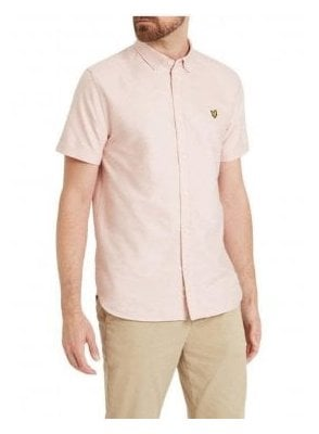 Lyle & Scott S/s Oxford Shirt Dusky Pink