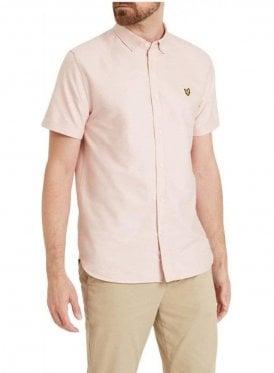 Lyle & Scott S/s Oxford Shirt Dusky Pink