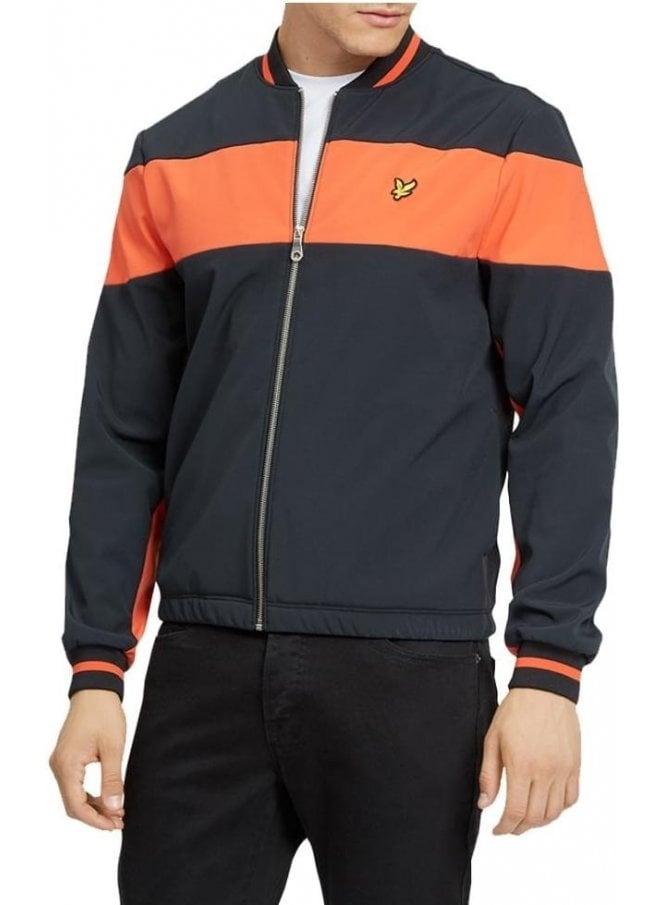 LYLE & SCOTT Softshell Bomber Jacket True Black