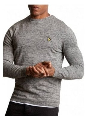 Space Dye Jumper Urban Grey