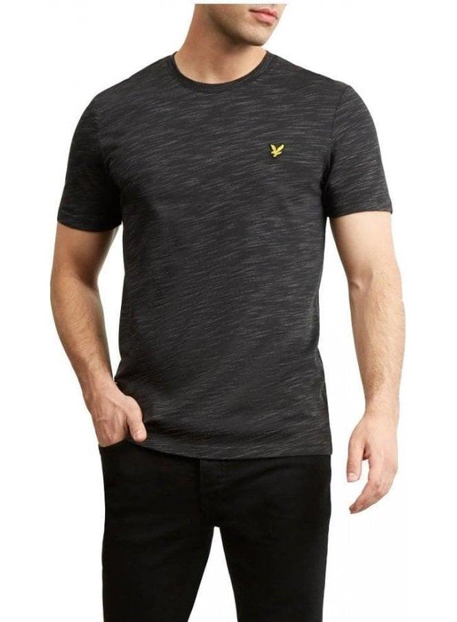 LYLE & SCOTT Space Dye T-Shirt True Black