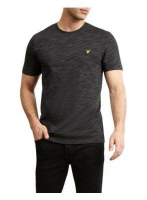 Space Dye T-Shirt True Black