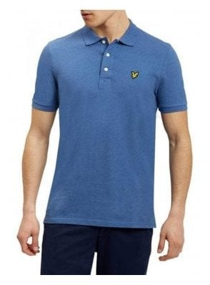 SS Polo Shirt Storm Blue Marl