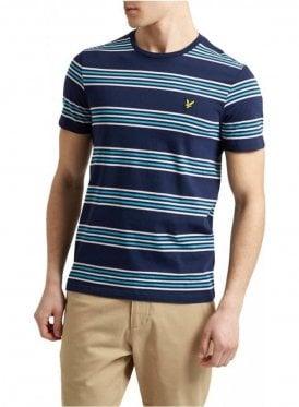 Stripe Tshirt Navy