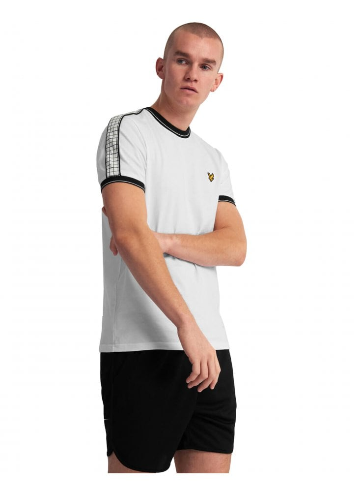 Lyle and Scott Vintage Taping Ringer T Shirt