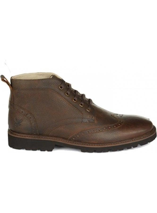 LYLE & SCOTT Whitrope Military Boot Dark Brown